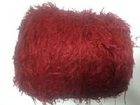 Лебяжий пух альпака 97 % ПА 3% цвет ягодный. Размер 180 метров в 100 граммах.
