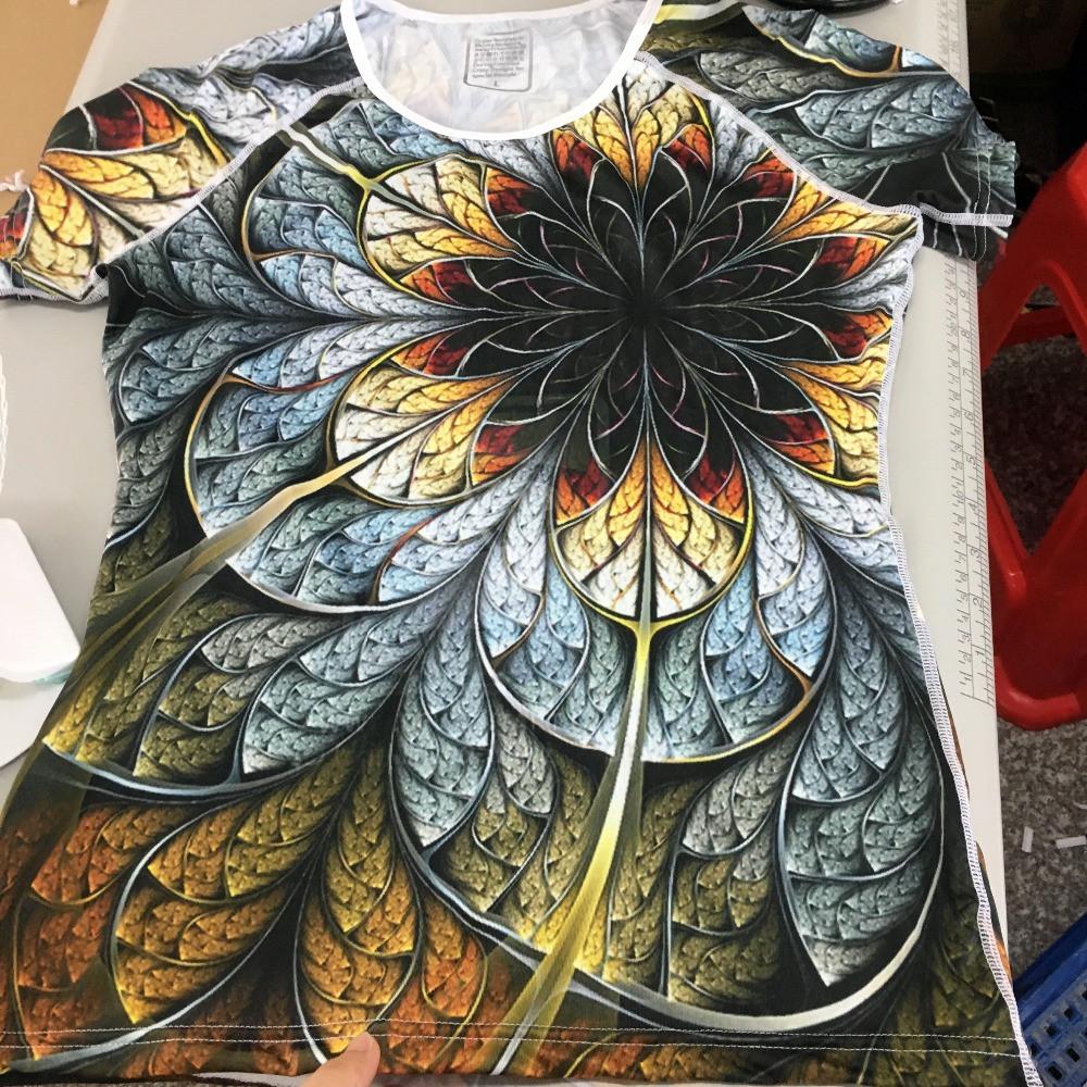Очень красивая женская футболка с 3D рисунком доставка из Китая