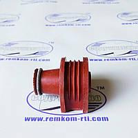 Уплотнение форсунки (штуцер) (236-11112230) ЯМЗ-236/238/240 (красный)