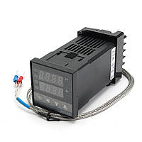 Программируемый PID (ПИД) контроллер температуры REX-C100FK02-M*AN с термопарой