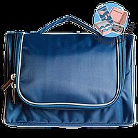Дорожный органайзер для косметики Premium (синий)