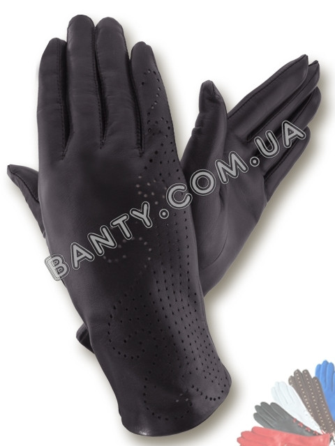 Женские перчатки без подкладки модель 061