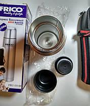 Термос металлический FRICO FRU-211, 350 мл + чехол, фото 2