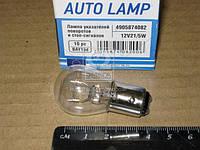 Лампа (12V21/5W) указателей поворотов и стоп-сигналов  BAY15d 12V P21/5W <Tempest>
