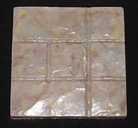 Формы для тротуарной плитки «Песчаник» глянцевые пластиковые АБС ABS