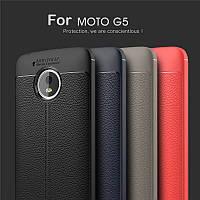 TPU чехол накладка Tiger для Motorola Moto G5 (XT1676) (4 цвета)