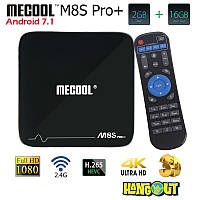 Mecool M8S Pro+ TV Box Amlogic S905X, 2Gb+16Gb