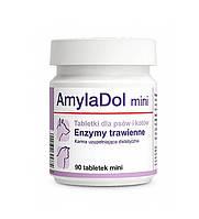 АмилаДол мини (AmilaDol mini) пищеварительные ферменты для кошек и собак, 90 табл., 30 гр.