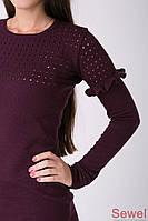 Теплое женское платье кежуал , фото 1