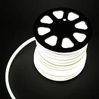 Гибкий LED неон, 220v, ip68, Холодный  белый