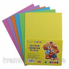 Набор цветной пористой резины TUKZAR TZ-10137 2мм 6 листов 6 цветов