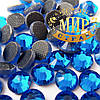 Стразы эконом Hotfix, цвет Caprie Blue, ss16 (4mm), 100шт