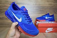 Мужские повседневные кроссовки Air Max Thea синие с красным, фото 1