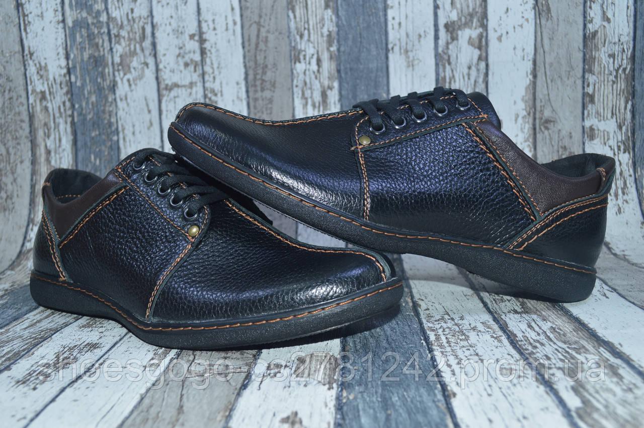 938e952cd ... Мужские кожаные туфли, натуральная кожа, полу-спорт Viva Вива, ...