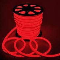 Гибкий LED неон, 220v, ip68, Красный
