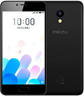 "Смартфон Meizu M5c Black (M5c 16GB Black) (моноблок, 5 ""IPS, 1280x720 294 ppi, MediaTek MT6737, 4x1.3 GHz, вст"