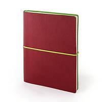 Записная книжка ENjoy RX, красный, кремовый блок, 192 с., линия, PRINT