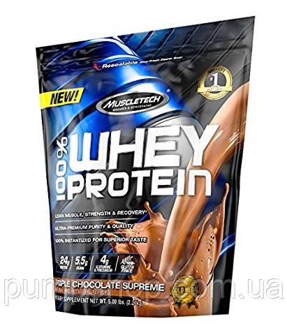 Сироватковий протеїн MuscleTech 100% Whey Protein Powder 2.2 кг