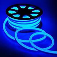 Гибкий LED Неон, 220v, ip68, Синий