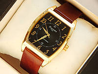 Наручний годинник Планета кварц вологостійкі на шкіряному ремінці, фото 1