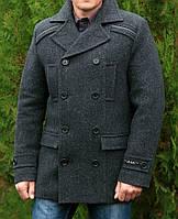 """Мужское пальто """" Двубортное 222 грэй """""""