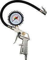 Пистолет для подкачки шин Vorel + манометр , фото 1
