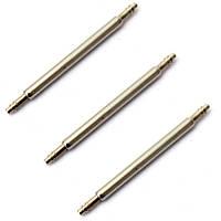 Шпилька штифт 18мм для крепления браслета ремешка к часам (100 штук в наборе)