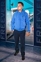 Кофта мужская голубая 22802