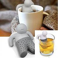 Ситечко для заваривания чая (заварник) ЧЕЛОВЕЧЕК Mr Tea