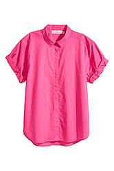 Рубашка с коротким рукавом H&M L.O.G.G.  UK10
