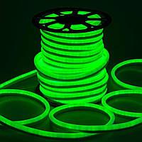 Гибкий LED неон, 220v, ip68, Зеленый