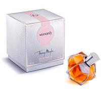 Женская парфюмированная вода Thierry Mugler Womanity Les Parfums De Cuir (Тьери Мюглер Вуманити Де Кьюр)
