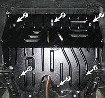 Защита двигателя Volkswagen Polo седан (с 2010--) Полигон-Авто