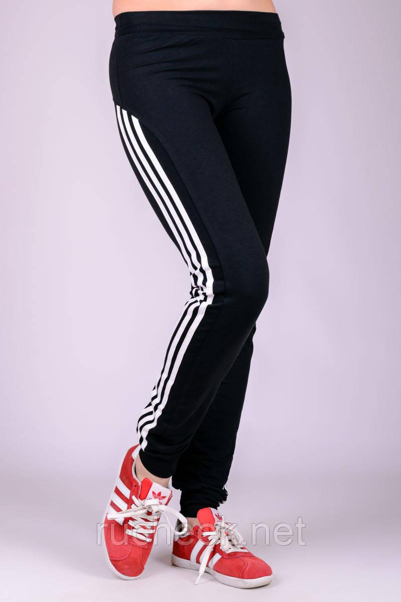 Спортивные штаны женские Фитнес (черные)