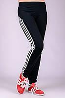 Спортивные штаны женские Фитнес (черные), фото 1