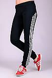 Спортивные штаны женские Фитнес (черные), фото 2