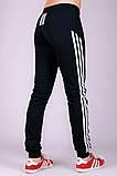 Спортивные штаны женские Фитнес (черные), фото 3