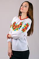 Женская вышиванка Летний букет (рукав 3/4), фото 1