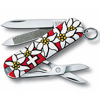 Нож Victorinox Classic 58мм Edelweiss