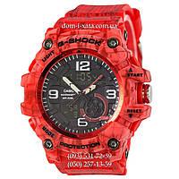 Электронные часы Casio G-Shock GG-1000 Mud-Red, спортивные часы Джи Шок красный