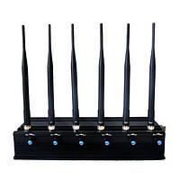 Молот-6А. Мощный подавитель GSM/DCS/WIFI/3G/GPS  L1- с регулируемой мощностью
