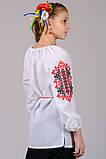 Вышиванка для девочки Украиночка (рукав 3/4), фото 6