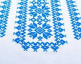 Вышиванка для девочки Орнамент (голубой), фото 4