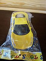 Машинка инерционная жёлтая Ферари