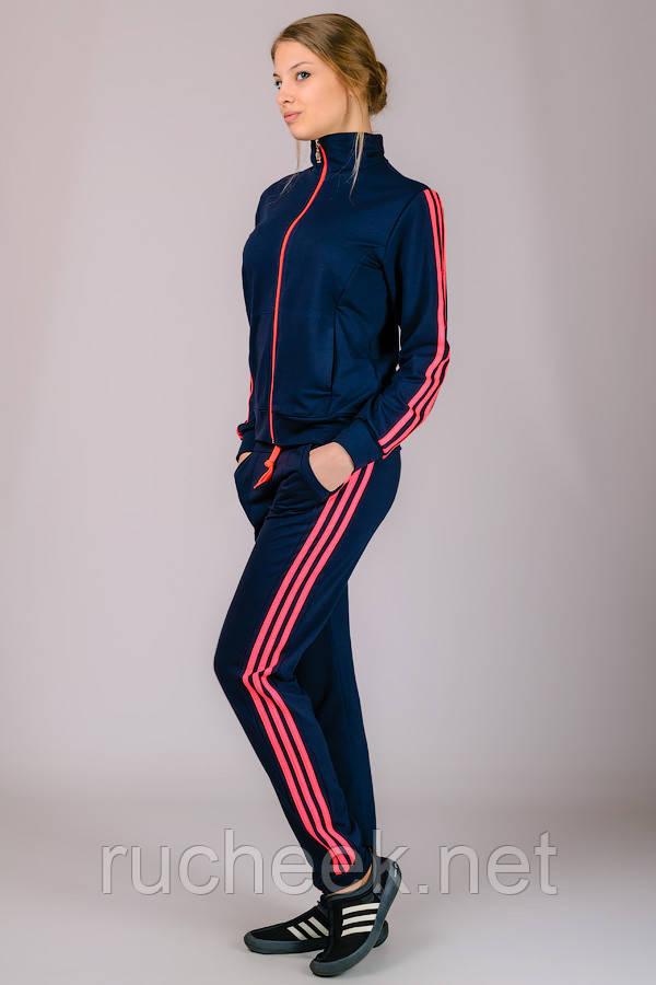 Спортивный костюм женский Classic №1 (темно-синий)