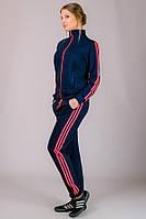 Спортивный костюм женский Classic №1 (темно-синий), фото 1
