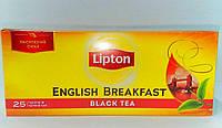 Чай черный Lipton English Breakfast Black Tea 25пак/50г (Украина)