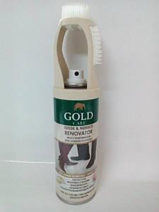 Спрей-краска восстановитель для нубука и  замши натуральный Goldcare  200мл