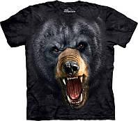 3D футболка мужская The Mountain р.M 50-52 RU футболки 3д (Черный Медведь)
