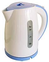 Электрочайник GRUNHELM EKP-1799AB (1,7 л, голубой цвет)